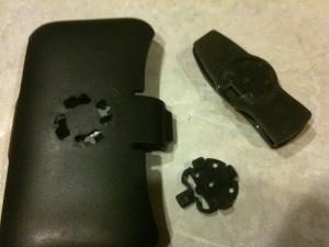 Broken Countour case