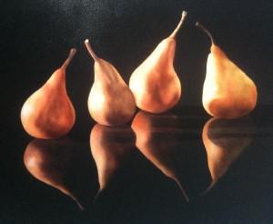 still life pears