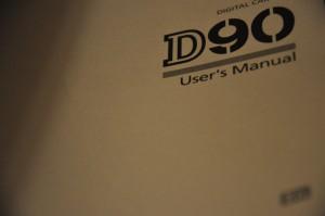 D90 user's manual