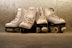 ladies' skates