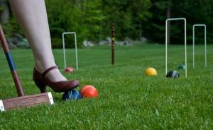 Croquet in Heels