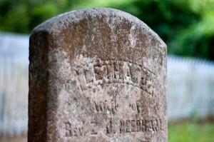 ocracoke tombstone