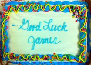 Good Luck James