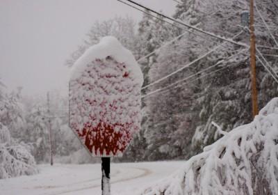 Stop (snowing)